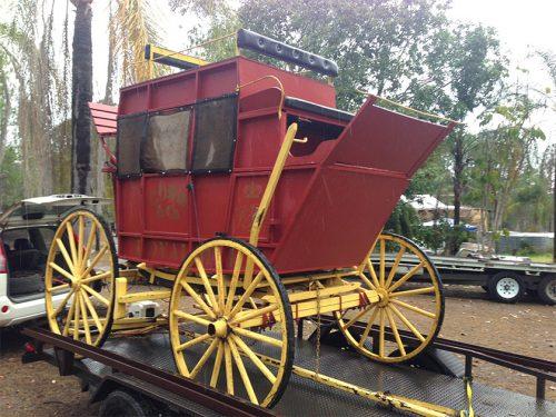 door to door carrying interstate horse carriage