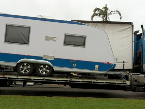 Caravan Transport - Door to Door Car Carrying