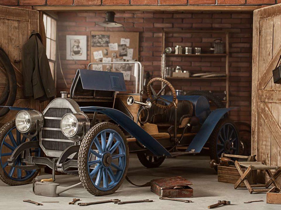 Peter Brock's first car: the Austin 7
