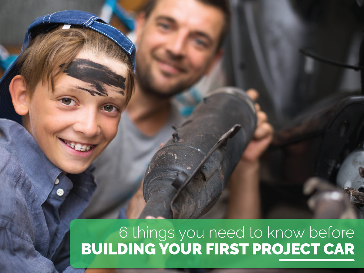 6 things you need to know before building your first project car