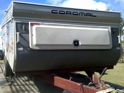 Caravan Transport Trailer - Door to Door Car Carrying