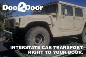 4WD Car Transport: Door to Door Car Carrying