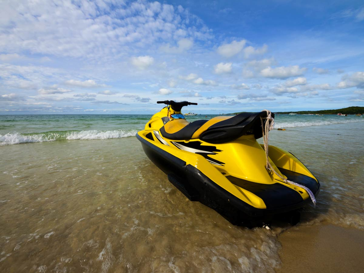 modifying your jet ski for fishing