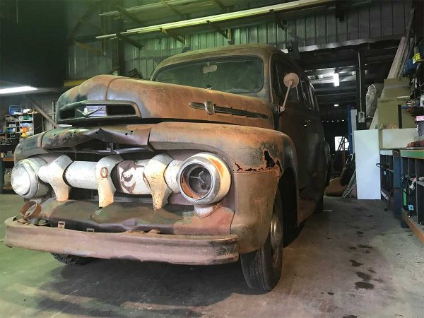 Rare 1951 Ford F1 Panel Van
