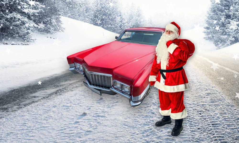 What would Santa drive?