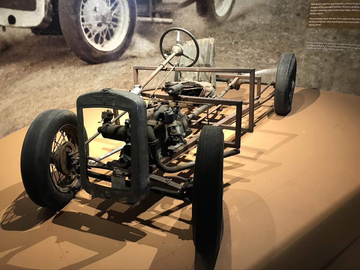 Peter Brock's first car: the Austin 7