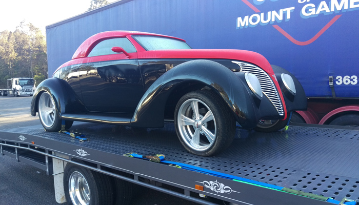 Transporting Vintage Cars With Care