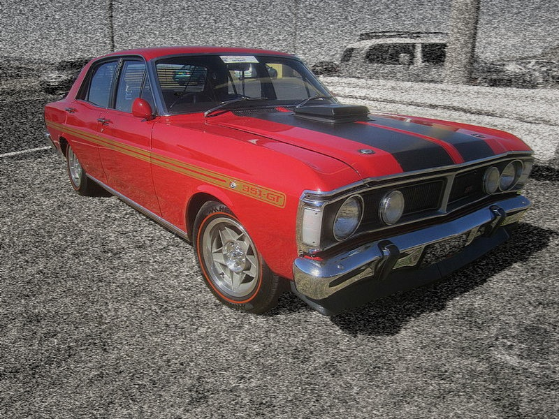 Ford Falcon XY GTHO Phase III - Dream Cars of the Past and Present