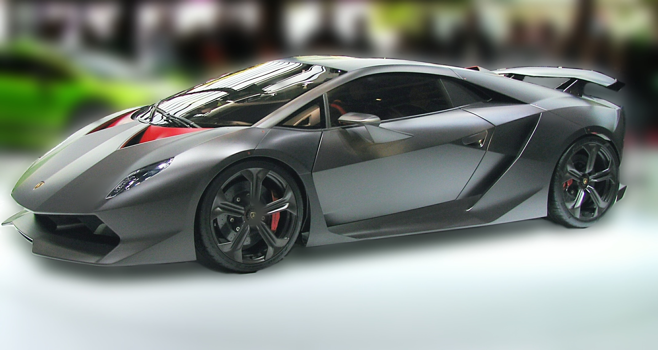 Lamborghini Sesto Elemento - Dream Cars of the Past and Present