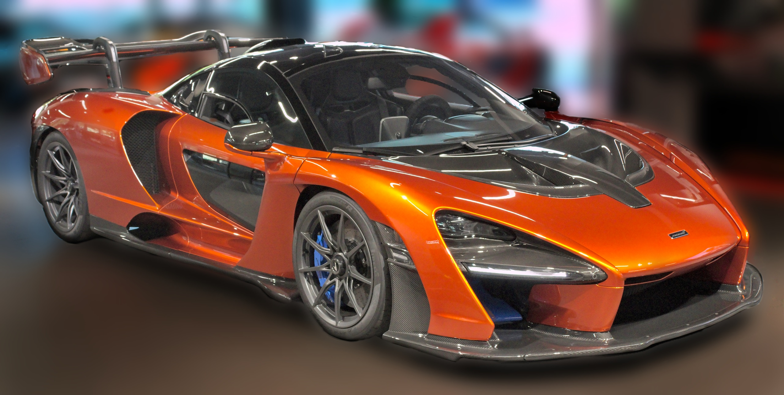 McLaren Senna - Dream Cars of the Past and Present
