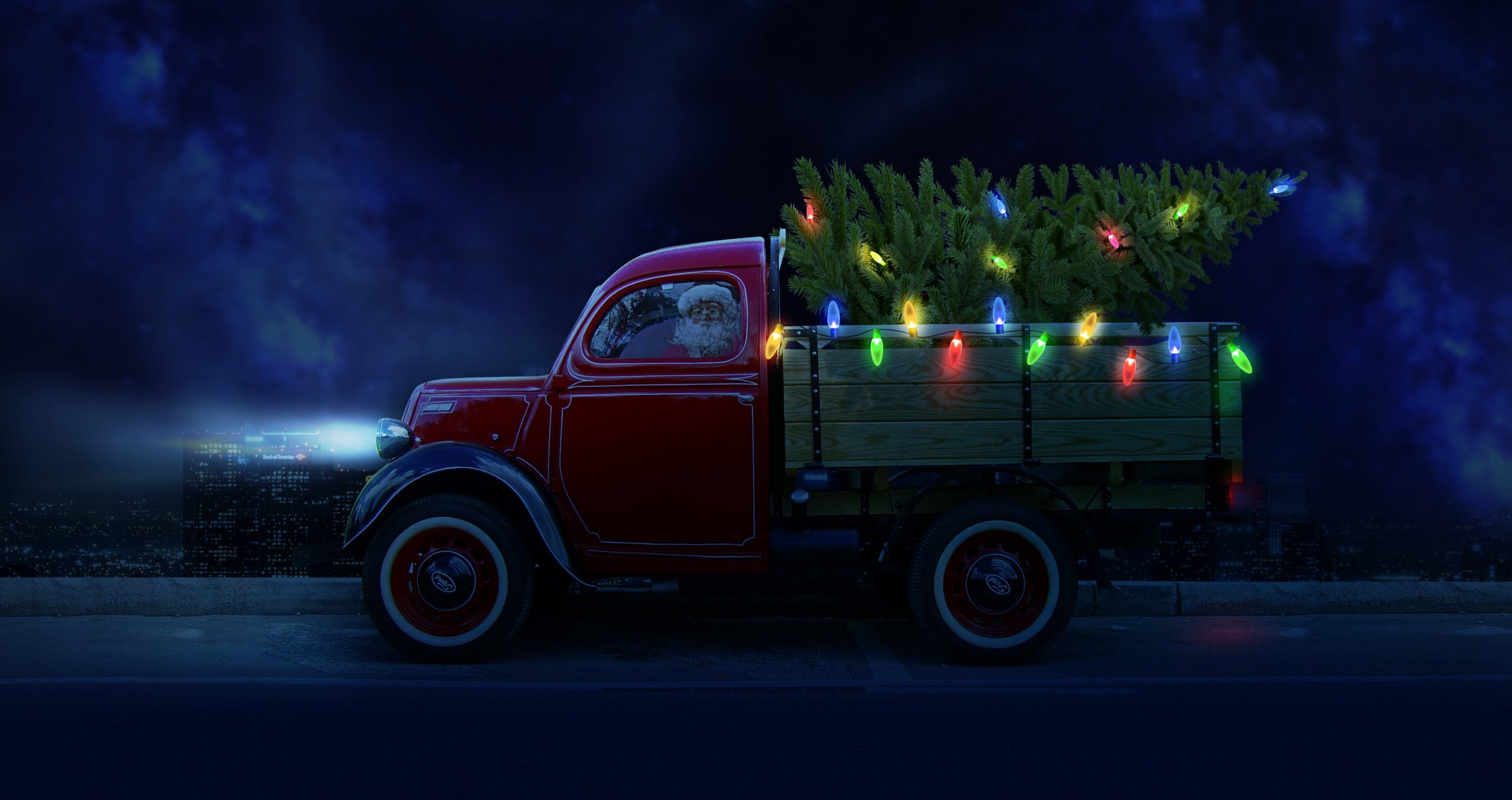Santa Fun on Wheels - 2020 Christmas Events for the Family