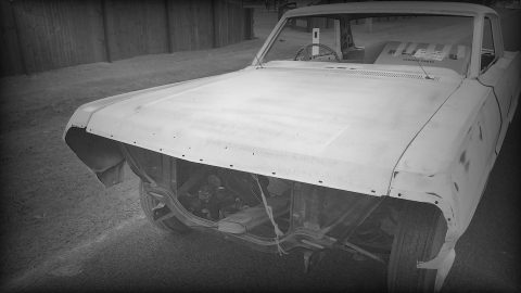 Old school - Transporting a broken car